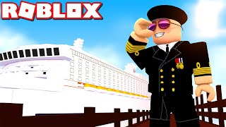COMKEANS PARTY SHIP! -Roblox Cruise Ship Tycoon English with ComKean