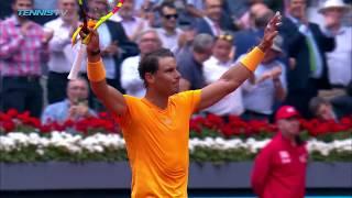 Nadal powers past Monfils; Edmund upsets Djokovic   Madrid 2018 Highlights Day 4