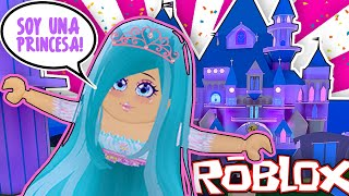 MY FIRST DAY IN SCHOOL OF PRINCESSES AS DISNEY - ROYALE HIGH - ROBLOX in Spanish