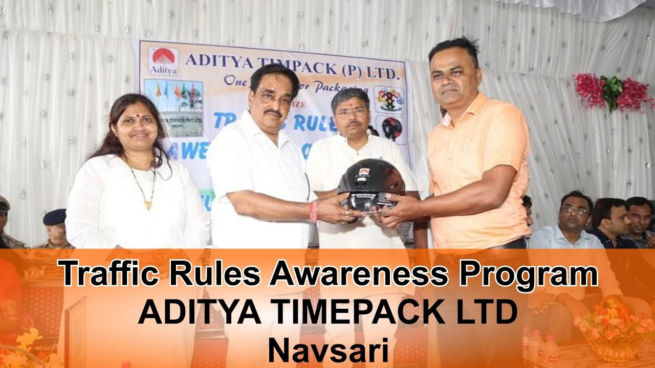 Traffic Rules Awareness Program  | CR Paatil - MP Navsari