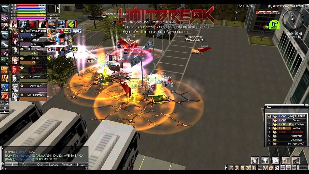 limitbreak ran online
