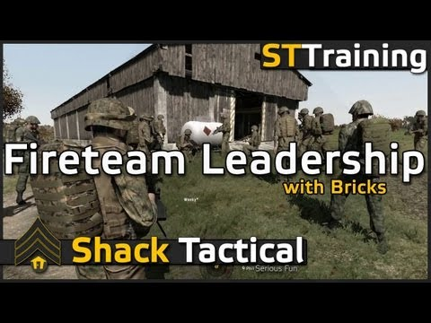 Fireteam Leadership with Bricks - ShackTac Arma 2