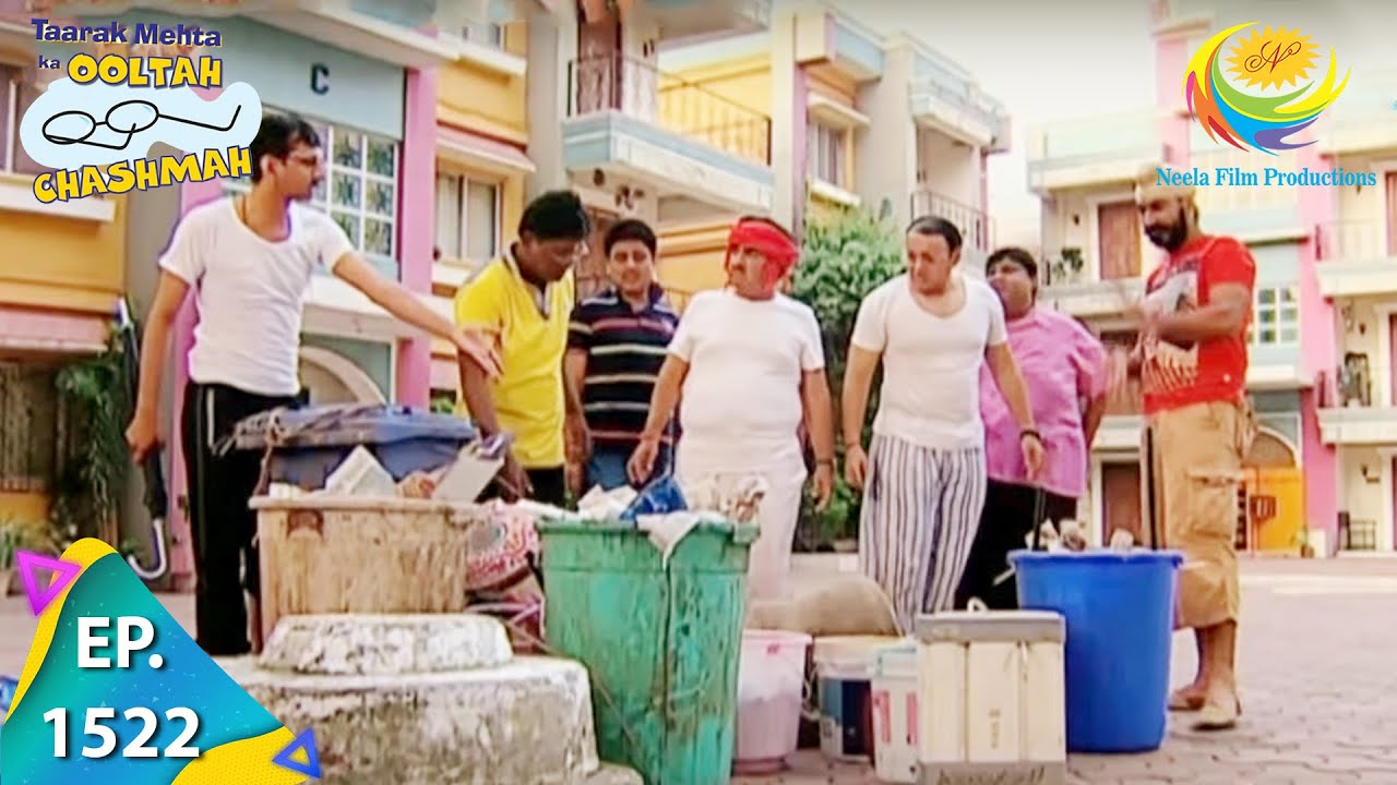 Download Taarak Mehta Ka Ooltah Chashmah - Episode 1522 - Full Episode