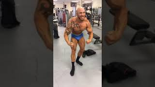 Olympia1 Gym | Posing Before The Show | VLOG