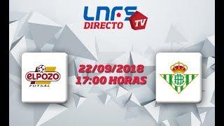 ElPozo Ciudad de Murcia - Real Betis Futsal