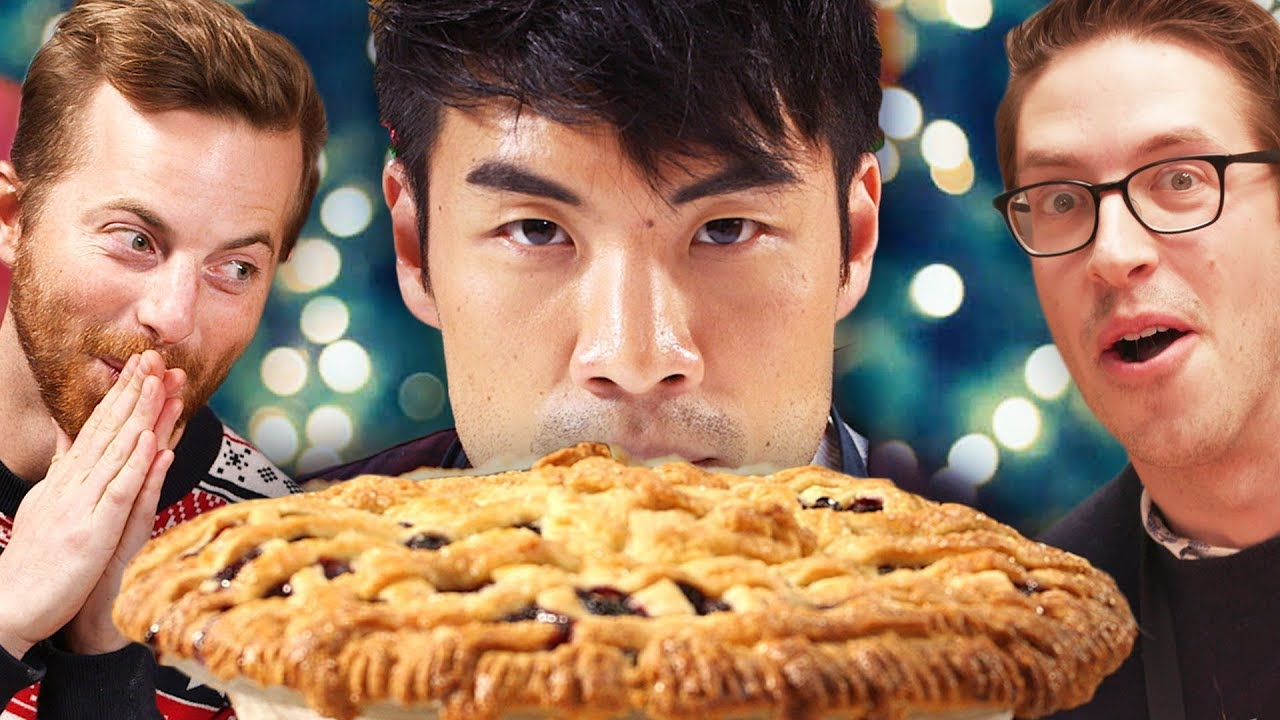 The Try Guys Bake Pie Without A Recipe