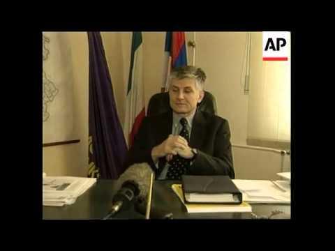 YUGOSLAVIA: 1ST ANNIVERSARY OF NATO BOMBING CAMPAIGN