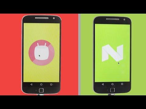 Nougat 7.0 Vs Marshmallow 6.0 Performance Benchmarks + App Opening Speed Test 🔥