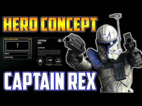 Captain Rex Hero Concept! Ability & Play Style Speculation - Star Wars Battlefront 2 thumbnail