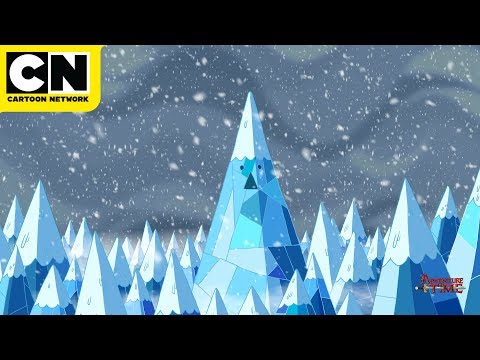 One Hour of Relaxing Blizzard Sounds | Adventure Time Ice Kingdom | Cartoon Network | CN Mini