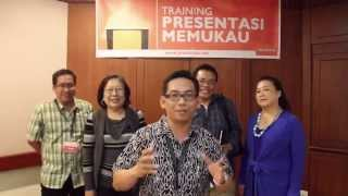 Testimoni Training Presentasi Memukau - Jakarta, 31 Januari 2015