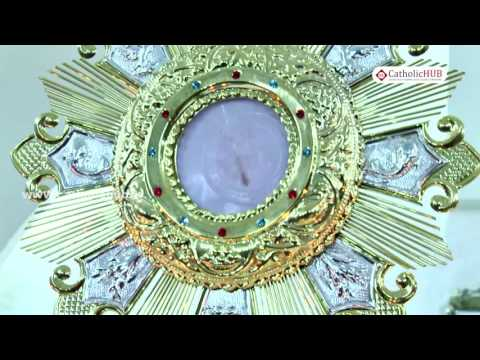 Miracle of THE BLEEDING EUCHARIST at The Adoration chapel at St.Francis College,Sec-bad,TS.02-10-16