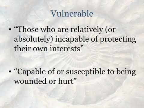 Vulnerable Populations  Women and Children
