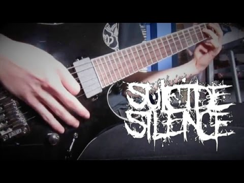 Suicide Silence - Unanswered (Guitar Cover) HD