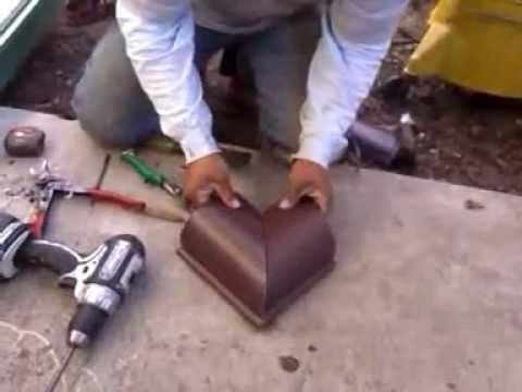 Aluminium Gutter Repair Stop Leaky Guttering Doovi