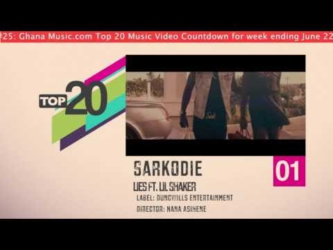 Top 20 Ghana Music Video Countdown - Week #25, 2013.