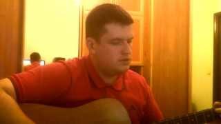 Николай Носков - А на меньшее я не согласен - Игра на гитаре - Лобанов Владимир