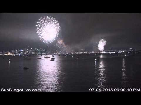 Big Bay Boom 2015 from Harbor Island (E) Camera at Tom Ham's Lighthouse