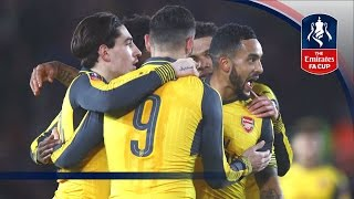 Video Gol Pertandingan Southampton vs Arsenal
