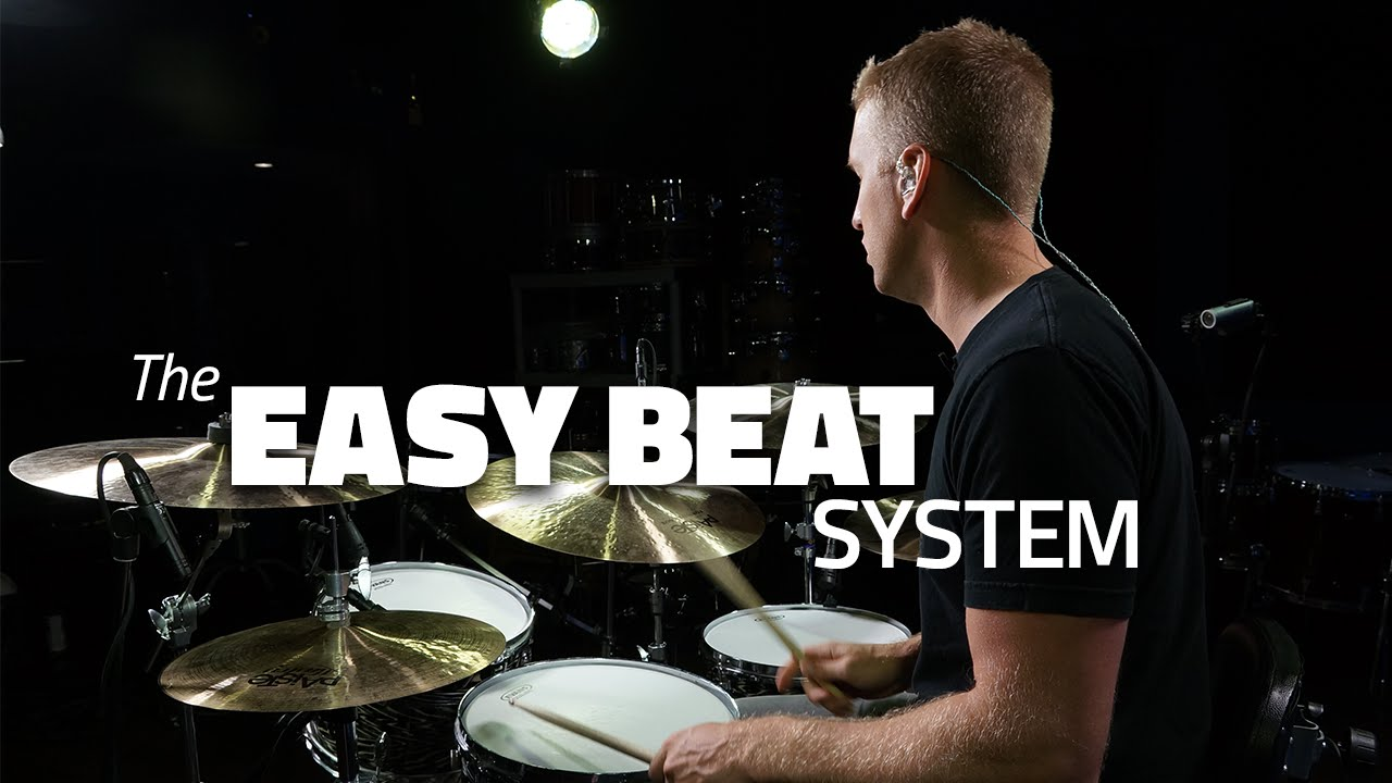 The Easy Beat System - Drum Lesson (DRUMEO)