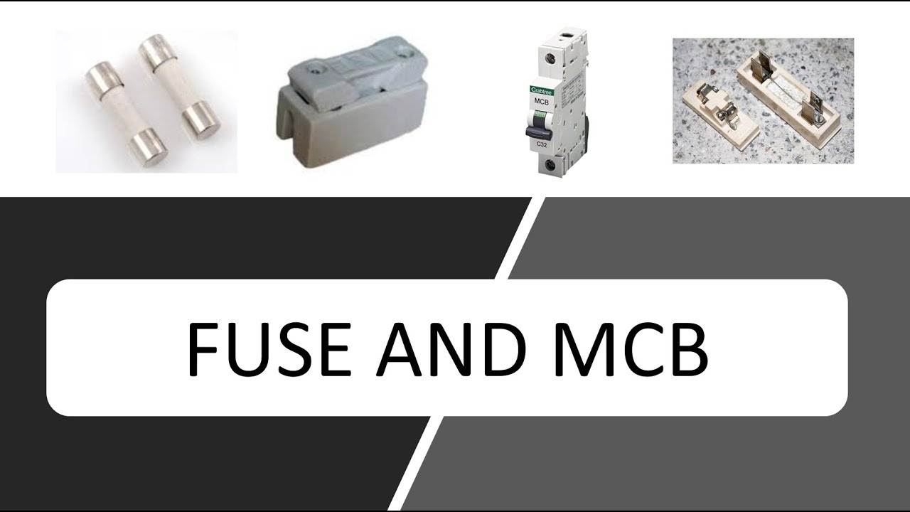 Electrical Circuit Breaker (Fuse and MCB) - Class 10 Physics - YouTube