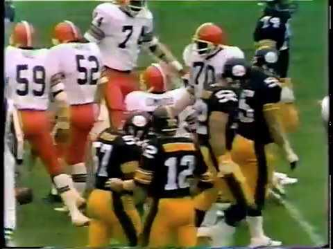 1978 Steelers 34 at Browns 14