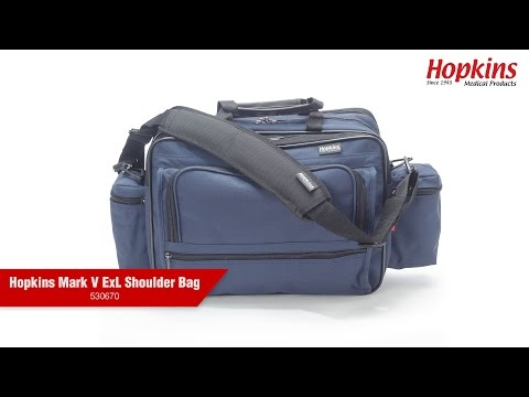 How to Use the Hopkins Mark V ExL Home Health Shoulder Bag