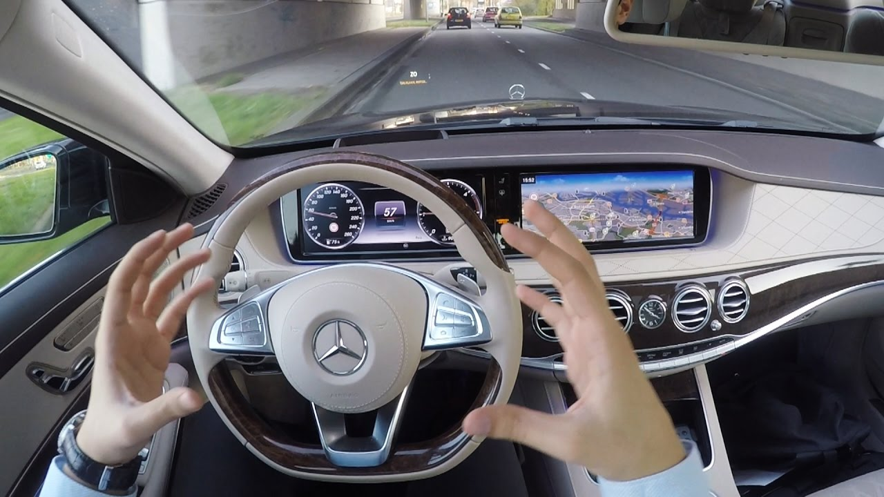 2017 Mercedes S Cl New S350 Long Amg 4matic Review Drive Pov