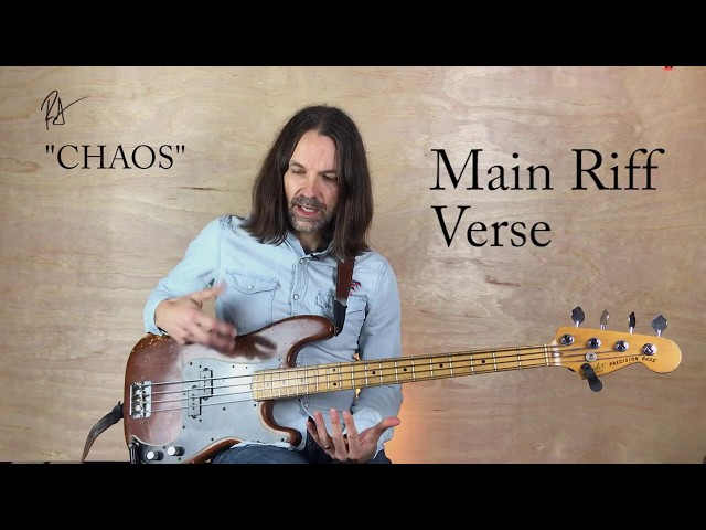 Chaos Bass Tutorial | MUTEMATH | How to Play Bass