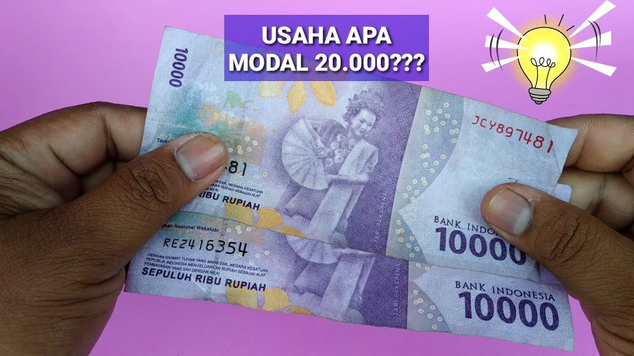 IDE USAHA, MIE JABLAI MODAL 20.000n - YouTube