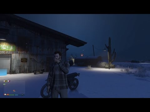 GTA V - a snowy supply run - WAYNE GROW INDUSTRIES - RP LP 23