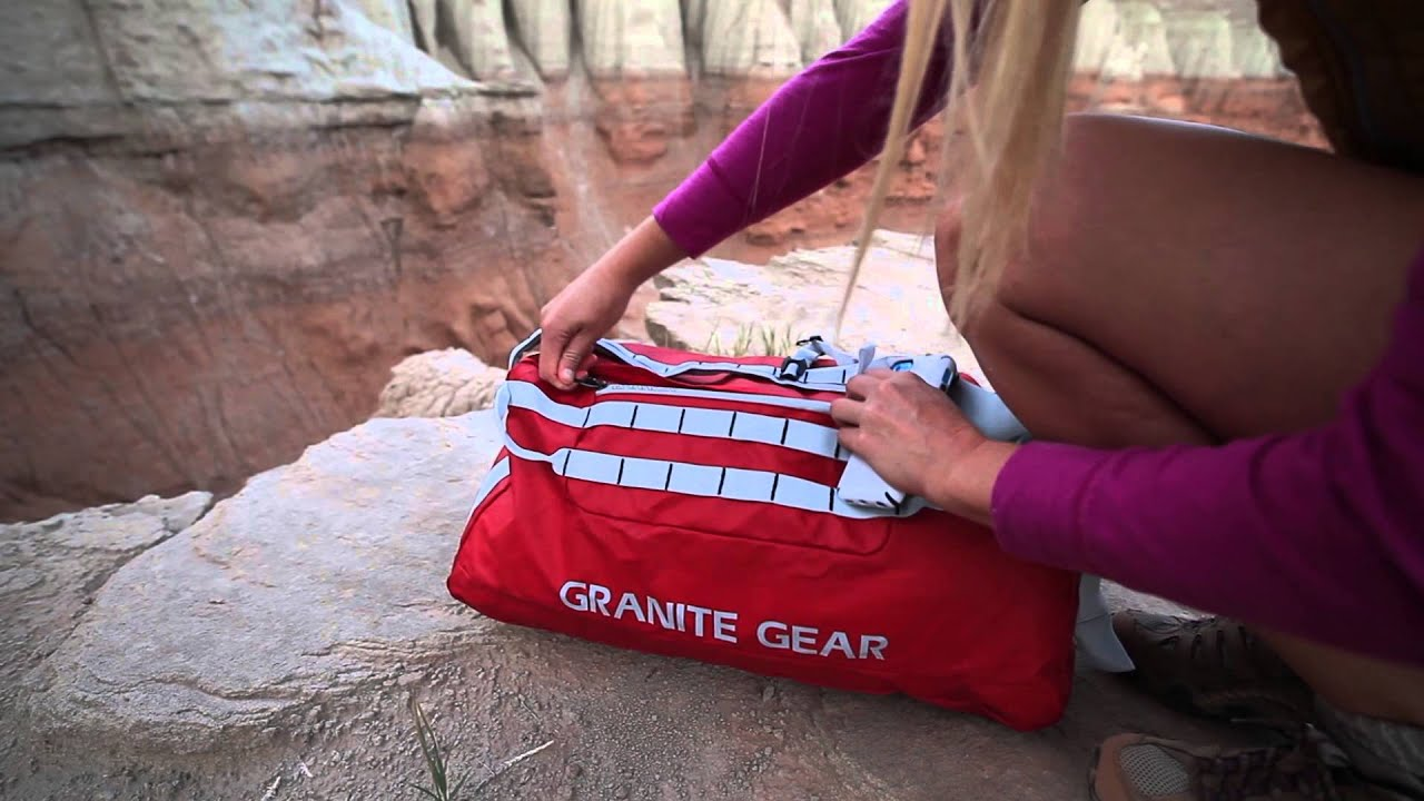 8bcbc7f4a9b0 Granite Gear Packable Duffel Bags - YouTube