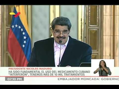 Presidente Nicolás Maduro desde Miraflores, 26 marzo 2020, sobre Clíver Alcalá y coronavirus