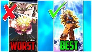 LR SUPER ATTACKS RANKED WORST TO BEST! Dokkan Battle List!