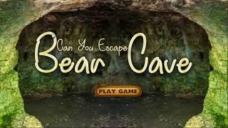 Can You Escape Bear Cave - Walkthrough