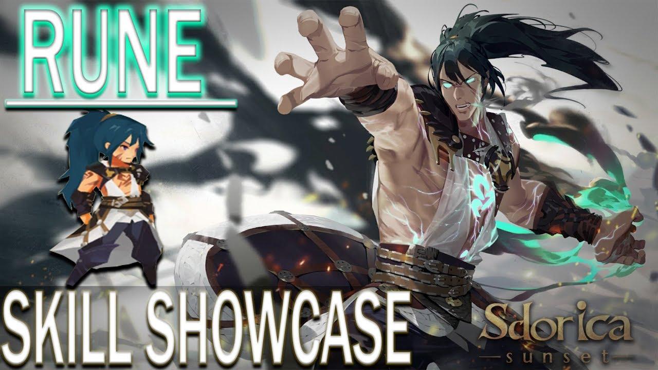 《Sdorica Mirage》Rune SKILL SHOWCASE