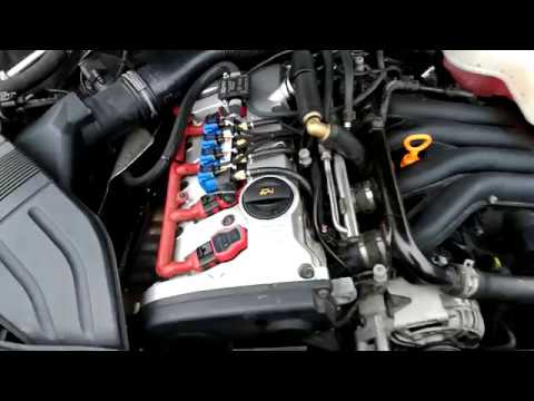 Audi A4 2.0 T >> Audi A4 B6 2.0 ALT 96kw Air intake - YouTube