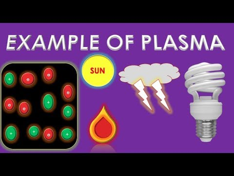 Examples Of Plasmaurdu Or Hindi 4th State Of Matter Plasma