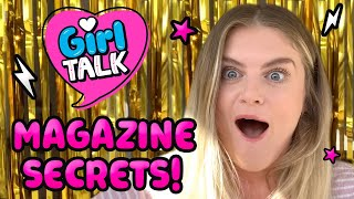 MAGAZINE SECRETS  Carly answers your questions!