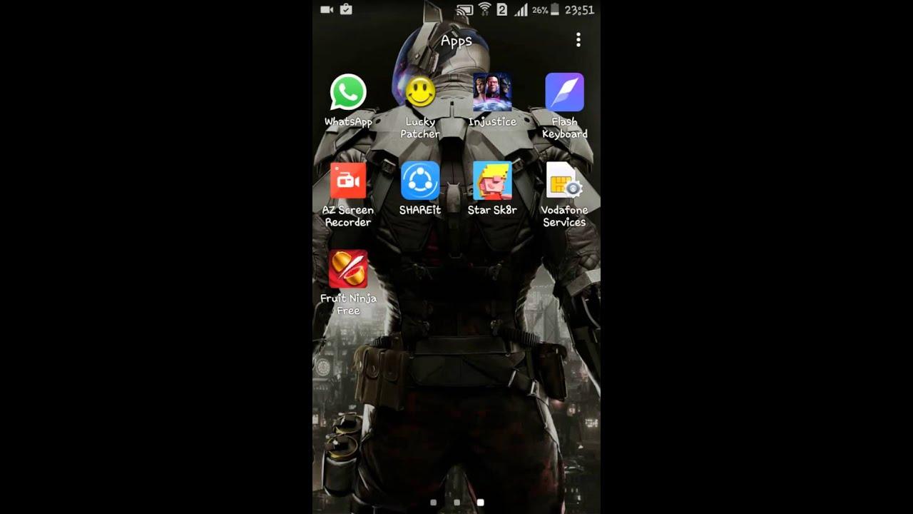 Fruit ninja hack lucky pacher android