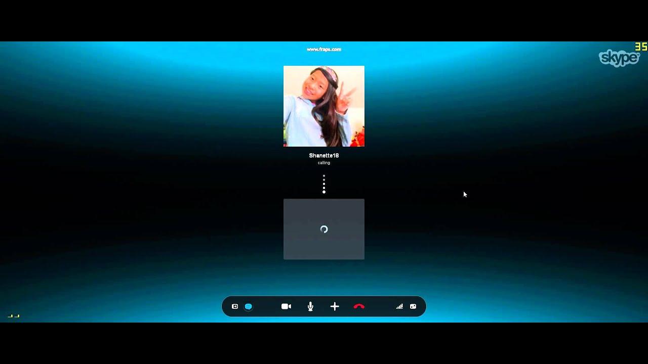 how to receive skype video call