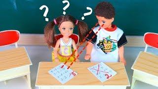 ДАЙ СПИСАТЬ, А НЕ ТО    Мультик #Барби Про школу Играем в Куклы Игрушки для девочек