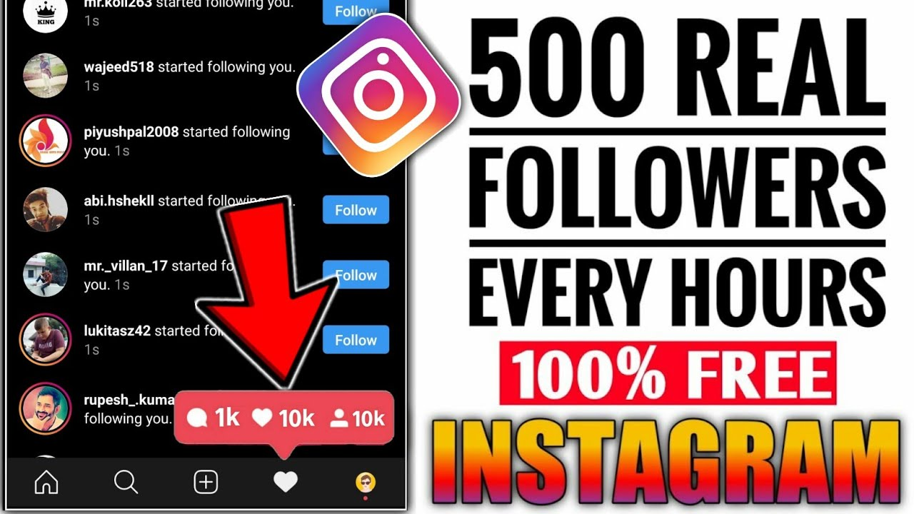 Unlimited Instagram Followers and Likes | How To increase Instagram Followers and Like