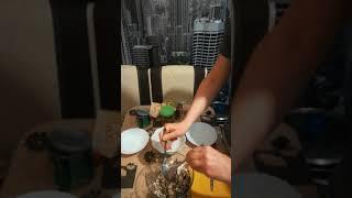 Салат из солёных грибов