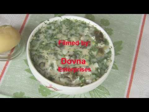 щавель рецепт щавеля холодника Cooking Russian Food