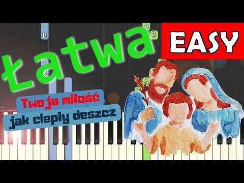 🎹 Twoja miłość (Joachim Mencel) - Piano Tutorial (łatwa wersja) 🎹