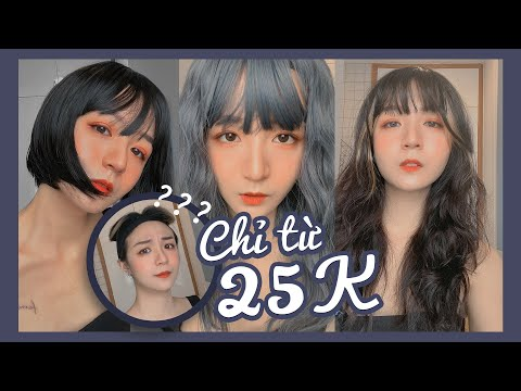 [SHOPEE] Mua thử tóc giả chỉ từ 25k trên Shopee và cái kết hết cả hồn ???