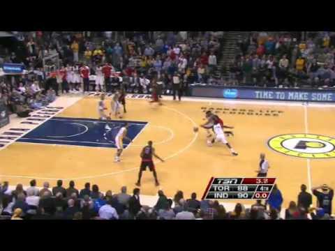 Raptors VS Pacers | GAME RECAP  | NBA 2012-13 Season 08/02/2013