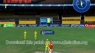 Pepsi IPL 7 2014 Patch EA Cricket 07 Download Free