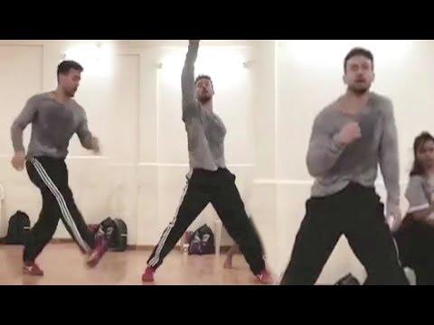 Tiger Shroff Dance Rehearsal For Baaghi 2 Songs